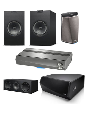 Kef/Heos Home Theatre Pack