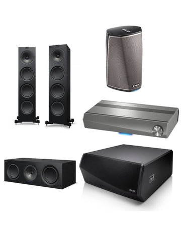 Kef/Heos Home Theatre Pack 2