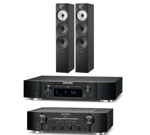 Marantz/Bowers and Wilkins CD Hifi System 3