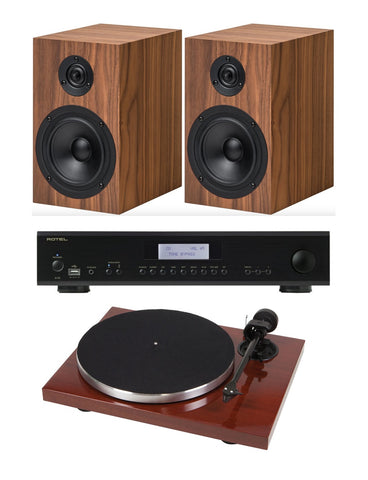 Rotel/Project Turntable System 4