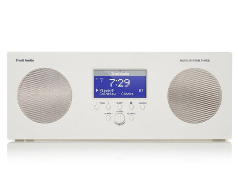 Tivoli Audio Music System Three+ DAB+/FM Portable (Ex-Display)