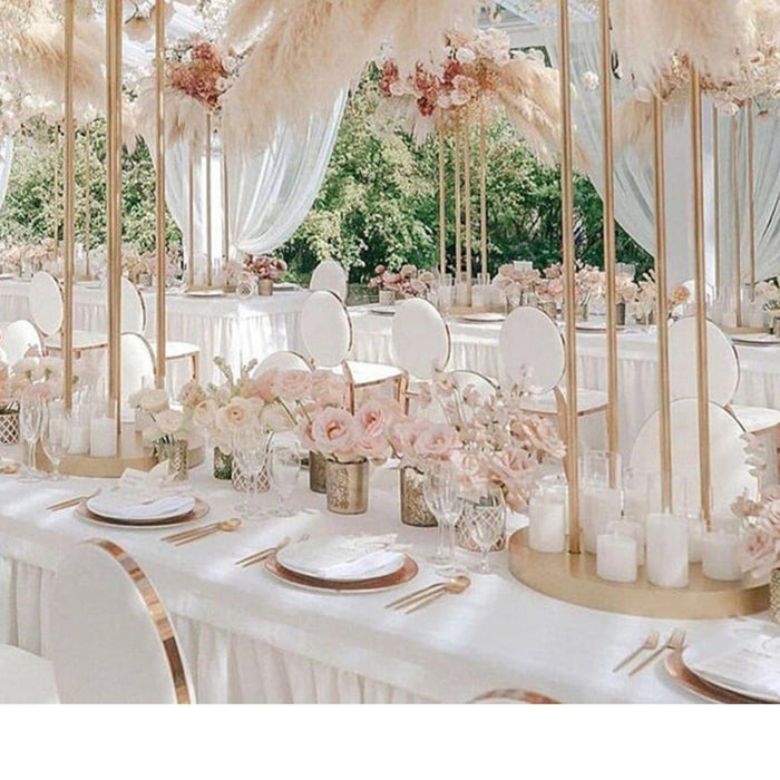 10 Elevated Wedding Centerpiece Ideas for Long Tables-Koyal Wholesale