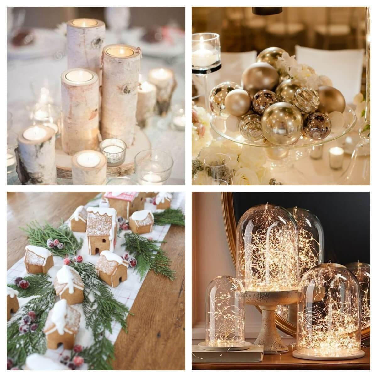 10 Winter Wedding Centerpieces Without Flowers