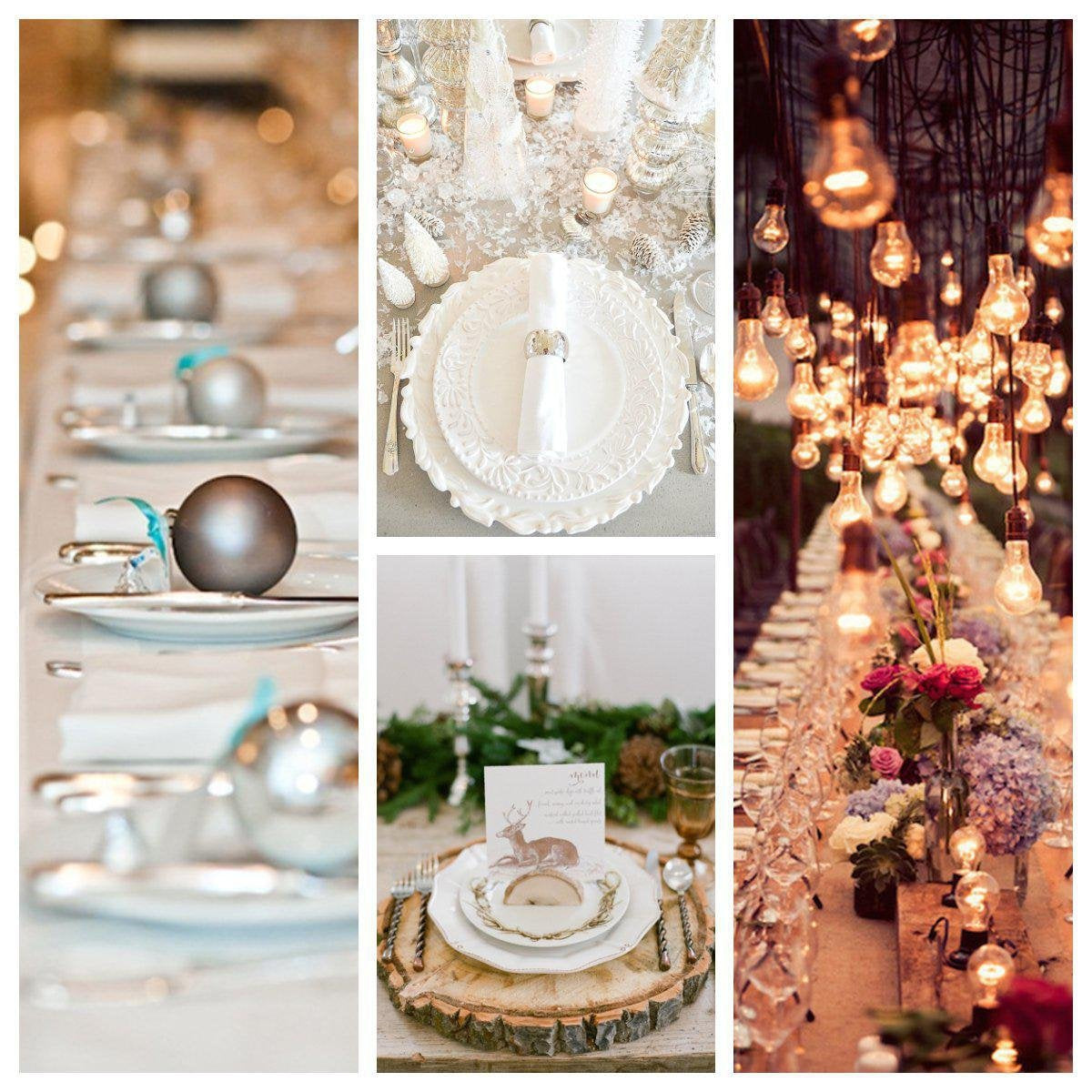 Our Top 10 Winter Wedding Table Setting Ideas-Koyal Wholesale