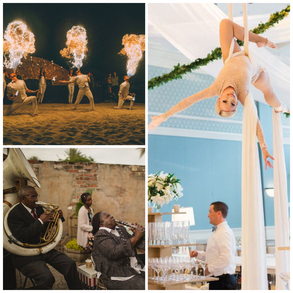 2020 Wedding Trend Immersive Entertainment Experiences