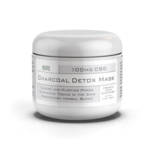 Load image into Gallery viewer, NUYU Detox Charcoal Mask - 100mg of CBD