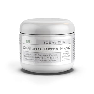NUYU Detox Charcoal Mask - 100mg of CBD