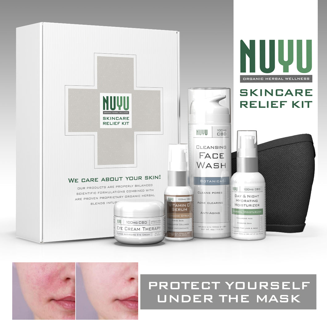 Nuyu Skin Care Relief Kit