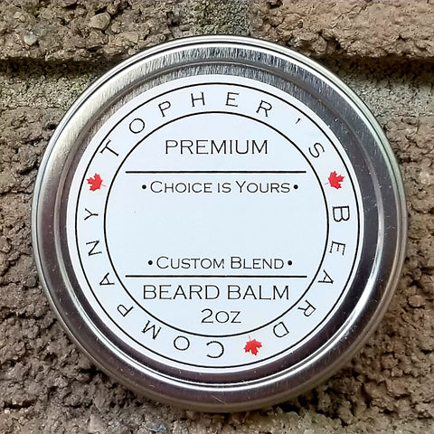 Choice is Yours - Customize your Premium Beard Butter