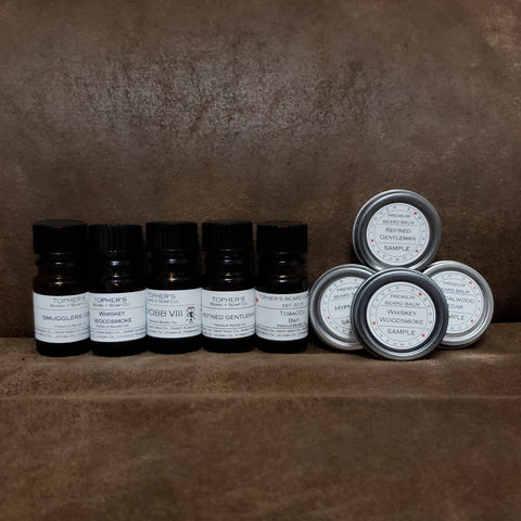Beard Oil + Balm Samples