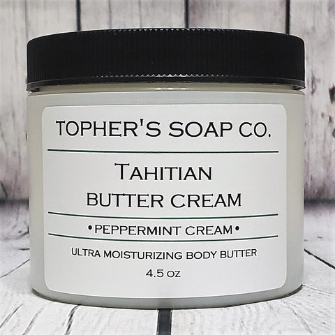 Peppermint Cream Tahitian Body Butter