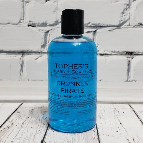 Drunken Pirate - 2 IN 1 HAIR + BEARD SHAMPOO