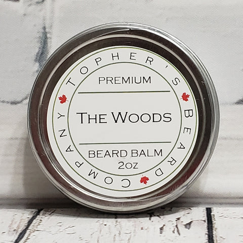 The Woods Premium Beard Balm