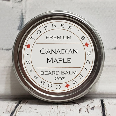Canadian Maple Premium Beard Balm