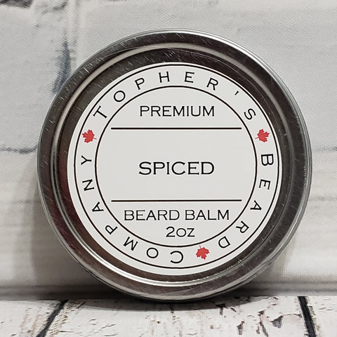 Spiced Premium Beard Balm