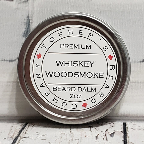 Whiskey Woodsmoke Premium Beard Balm