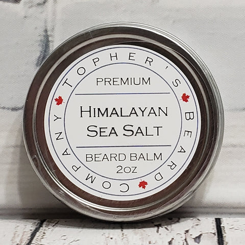 Himalayan Sea Salt Premium Beard Balm