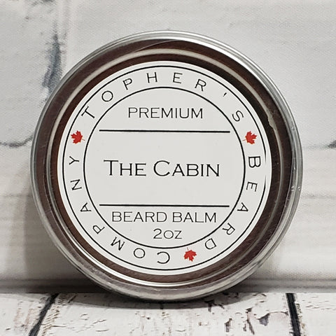 The Cabin Premium Beard Balm