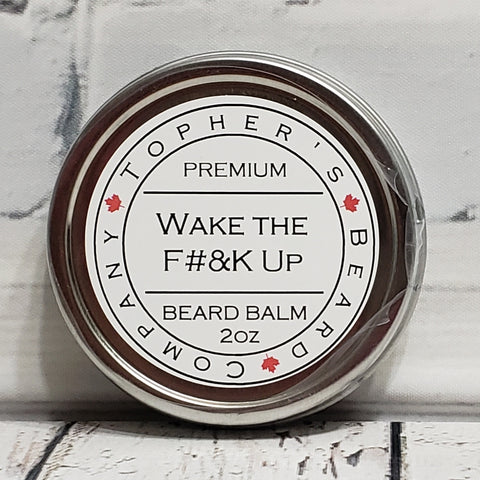 Wake the F#&k Up Premium Beard Balm