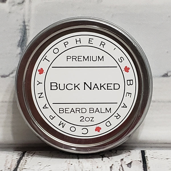 Buck Naked Premium Beard Balm