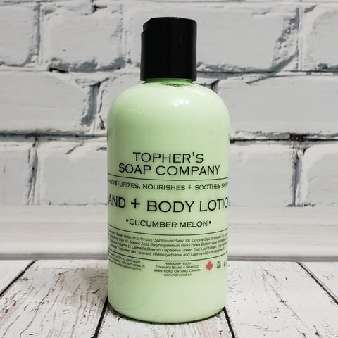 Cucumber Melon - Hand & Body Lotion