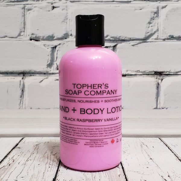 Black Raspberry Vanilla - Hand & Body Lotion