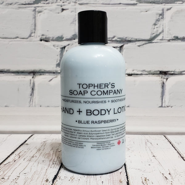 Blue Raspberry - Hand & Body Lotion