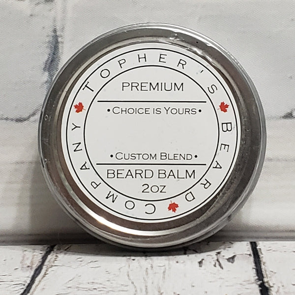 Choice is Yours - Customize your Premium Beard Balm
