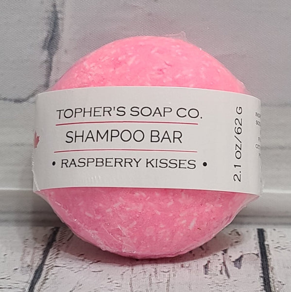 Shampoo Bar - Raspberry Kisses
