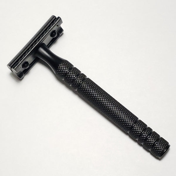 Black + Black Steel Double Edge Safety Razor
