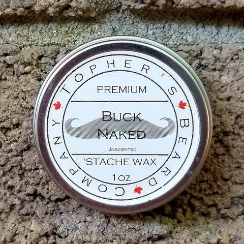 Buck Naked 'Stache Wax - Unscented