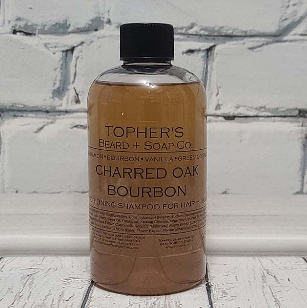 Charred Oak Bourbon - 2 IN 1 HAIR + BEARD SHAMPOO