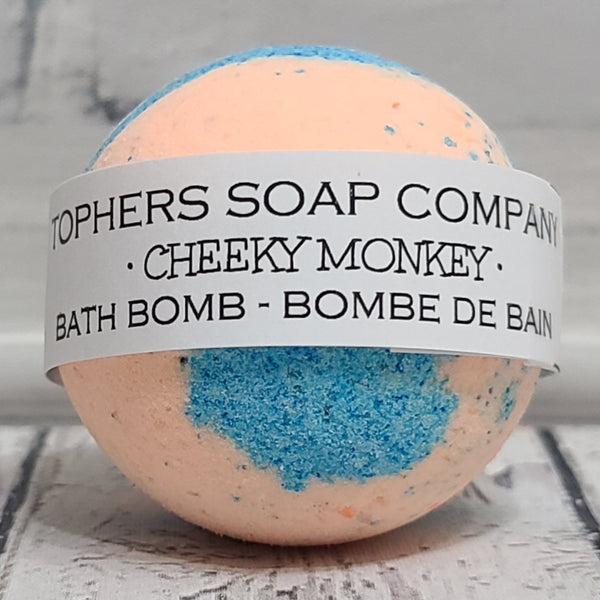 Cheeky Monkey Foaming Bath Bomb