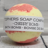 Cherry Bomb Foaming Bath Bomb