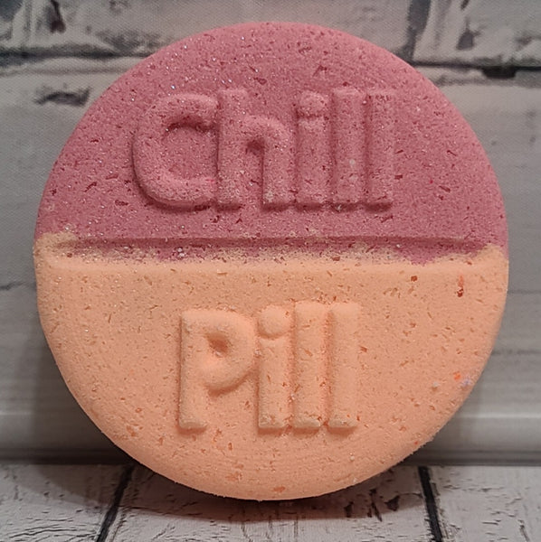 Mimosa Chill Pill Bath Bomb