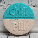 Peppermint Cream Chill Pill Bath Bomb