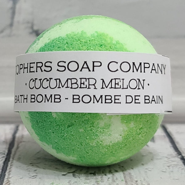 Cucumber Melon Foaming Bath Bomb