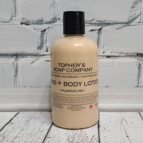 Pumpkin Pie - Hand & Body Lotion