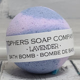 Lavender Foaming Bath Bomb