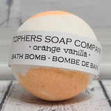 Orange Vanilla Foaming Bath Bomb