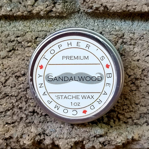 Sandalwood 'Stache Wax