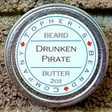 Drunken Pirate Premium Beard Butter