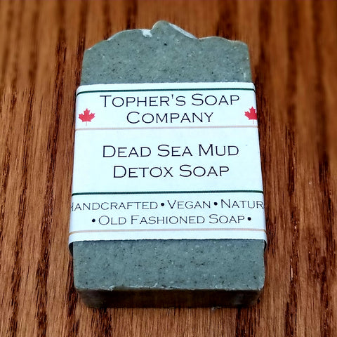 Dead Sea Mud + Lemongrass Detox Bar - Soap