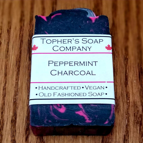 Peppermint Charcoal - Soap