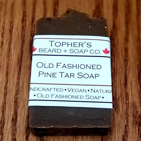 Old Fashioned Pine Tar - Soap