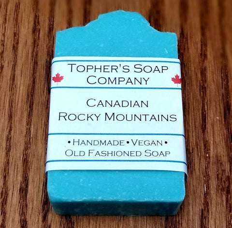 Canadian Rocky Mountains - Soap