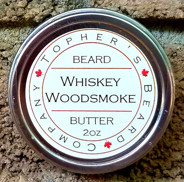Whiskey Woodsmoke Premium Beard Butter