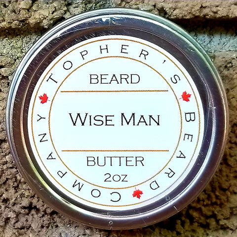 The Wise Man Premium Beard Butter