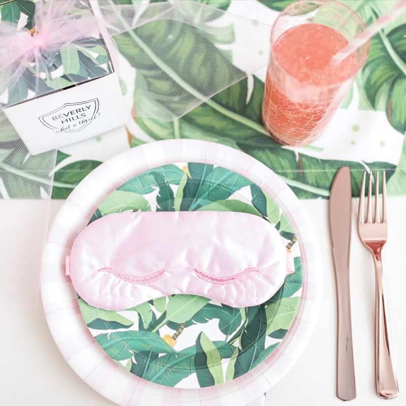 Palm Leaf Dessert Plates and Party Supplies