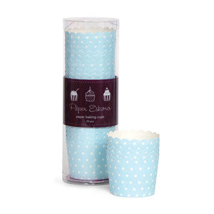 Baking Cups Blue & White Spots - Paper Eskimo - 1